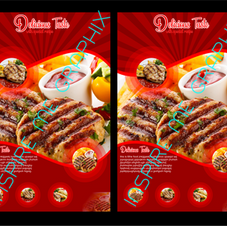 Grill Restaurant Flyer Red Theme.png