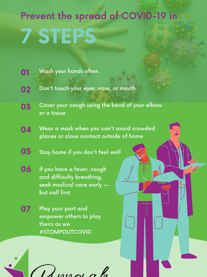 7 Steps to Prevevent the Spread of COVID-19