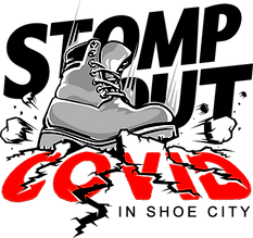 Stomp Out Covid Logo (Transparent Backgr