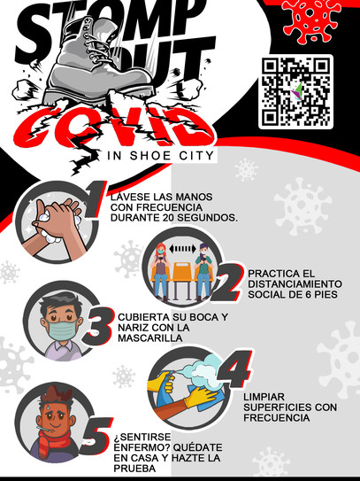 Stomp Out Covid 2021 FLYER (Spanish) 6.2