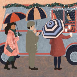 Christmas Coffee Truck