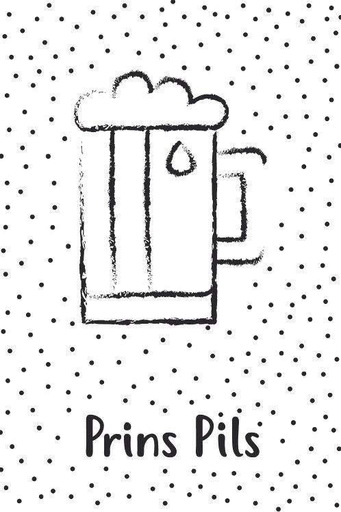 Prins pils kaart