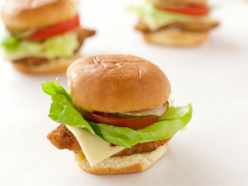 Poppin' Pork Chop Sandwiches