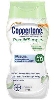 copertone pure and simple