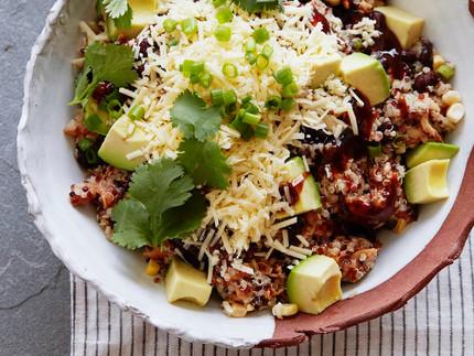 BBQ Chicken Quinoa Salad