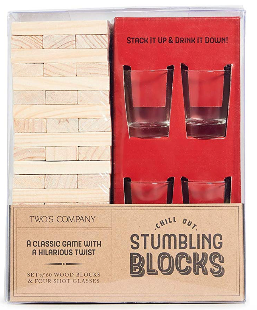 Two's Company Stumbling Blocks Drinking Game