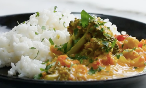 Slow Cooker Coconut Curry Recipe