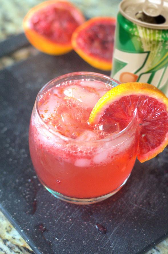 Orange Sunrise Cocktail