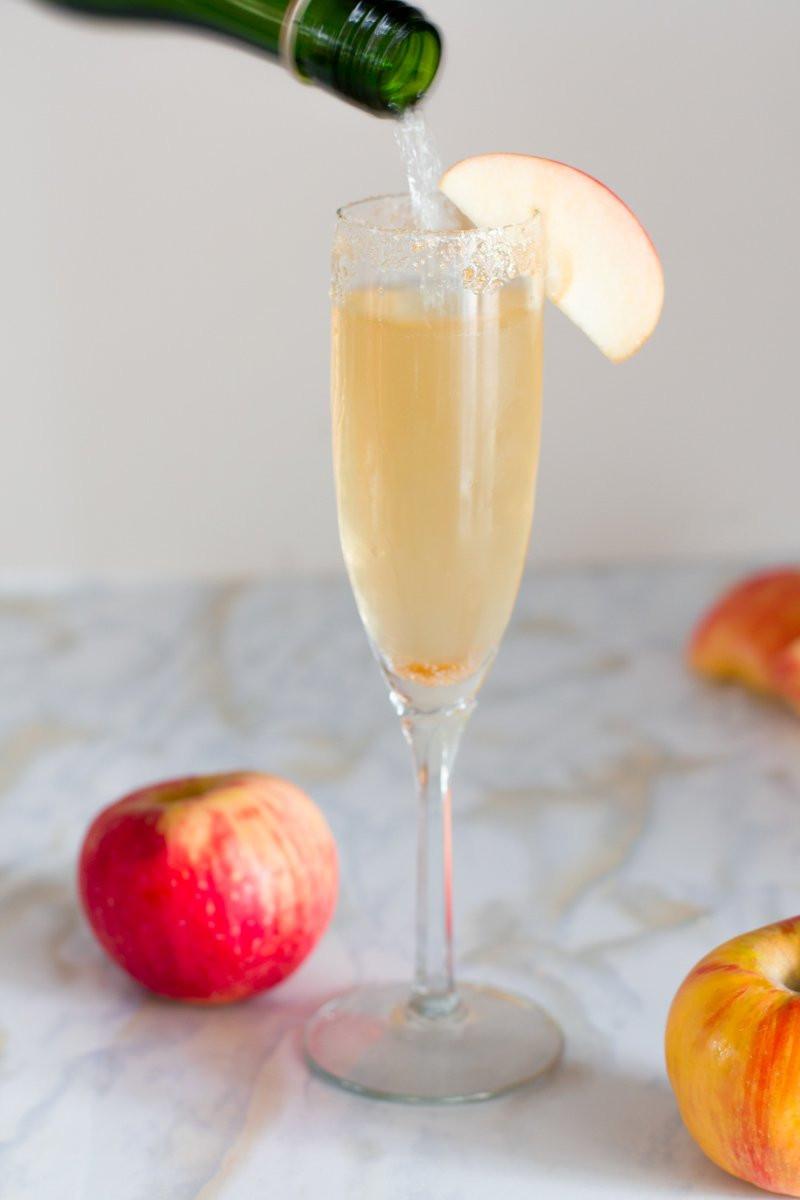 Apple-Gin Autumn Cocktail recipe