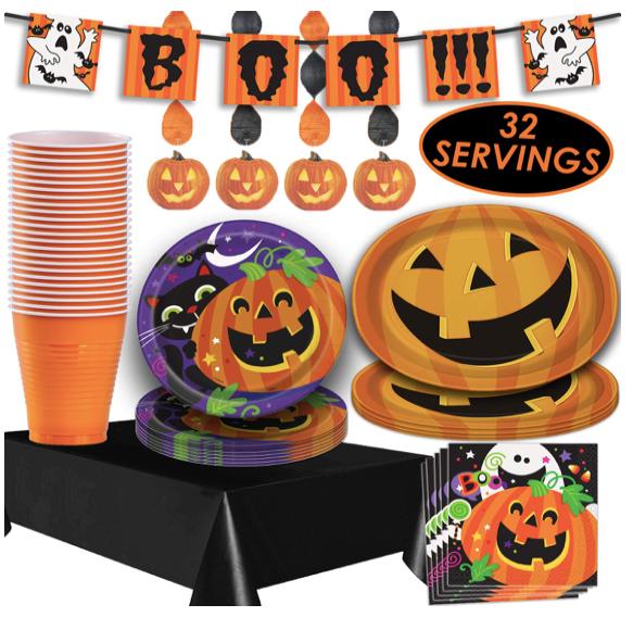 halloween paper goods