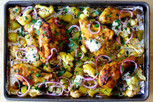 Sheet Pan Chicken Tikka