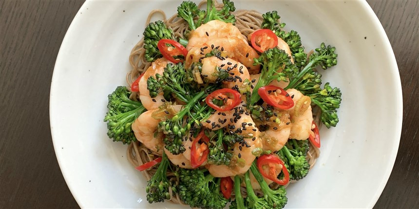 Soy Marinated Shrimp
