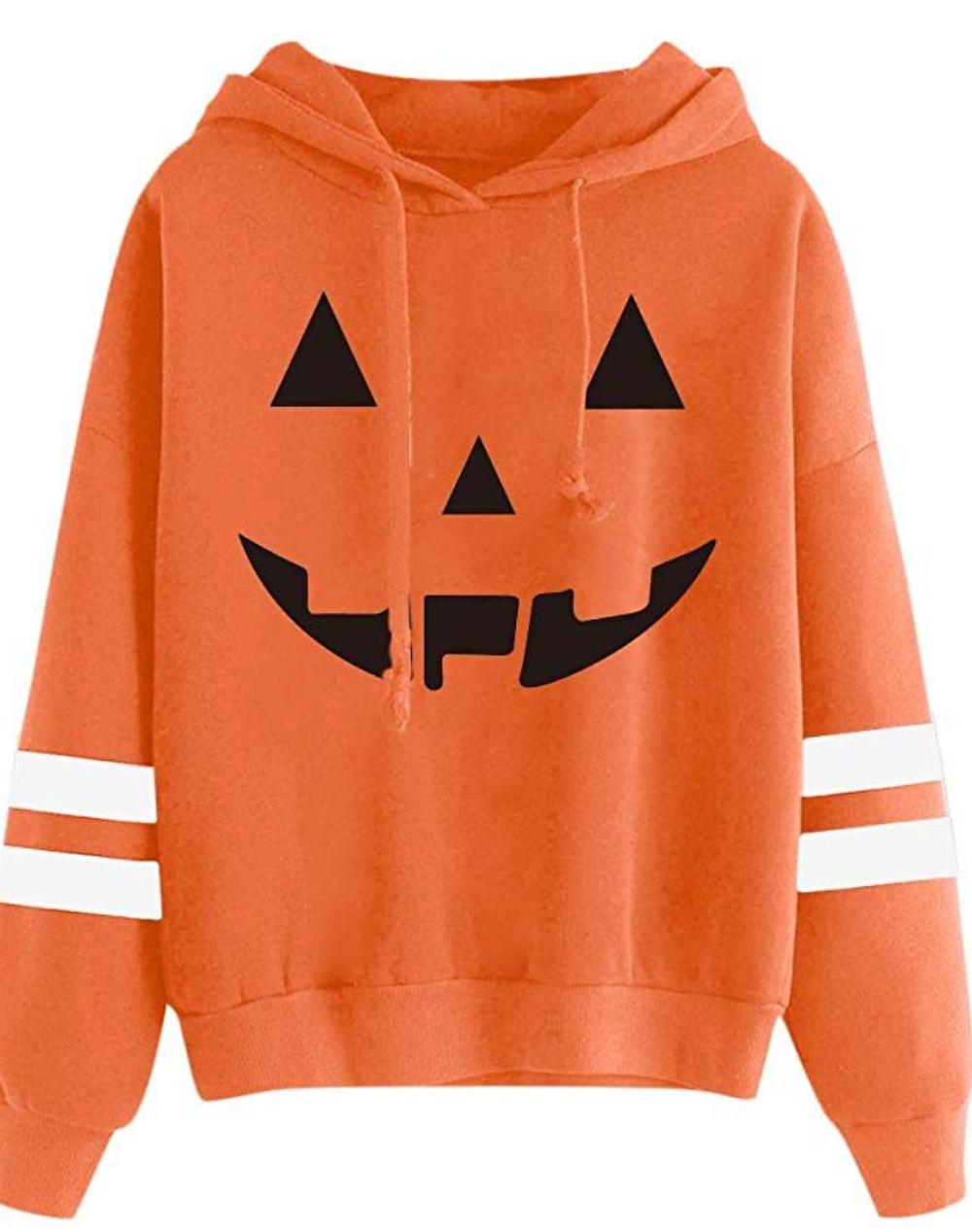 pumpkin jack o' lantern sweatshirt