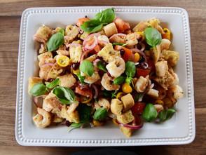 Grilled Shrimp Panzanella Recipe