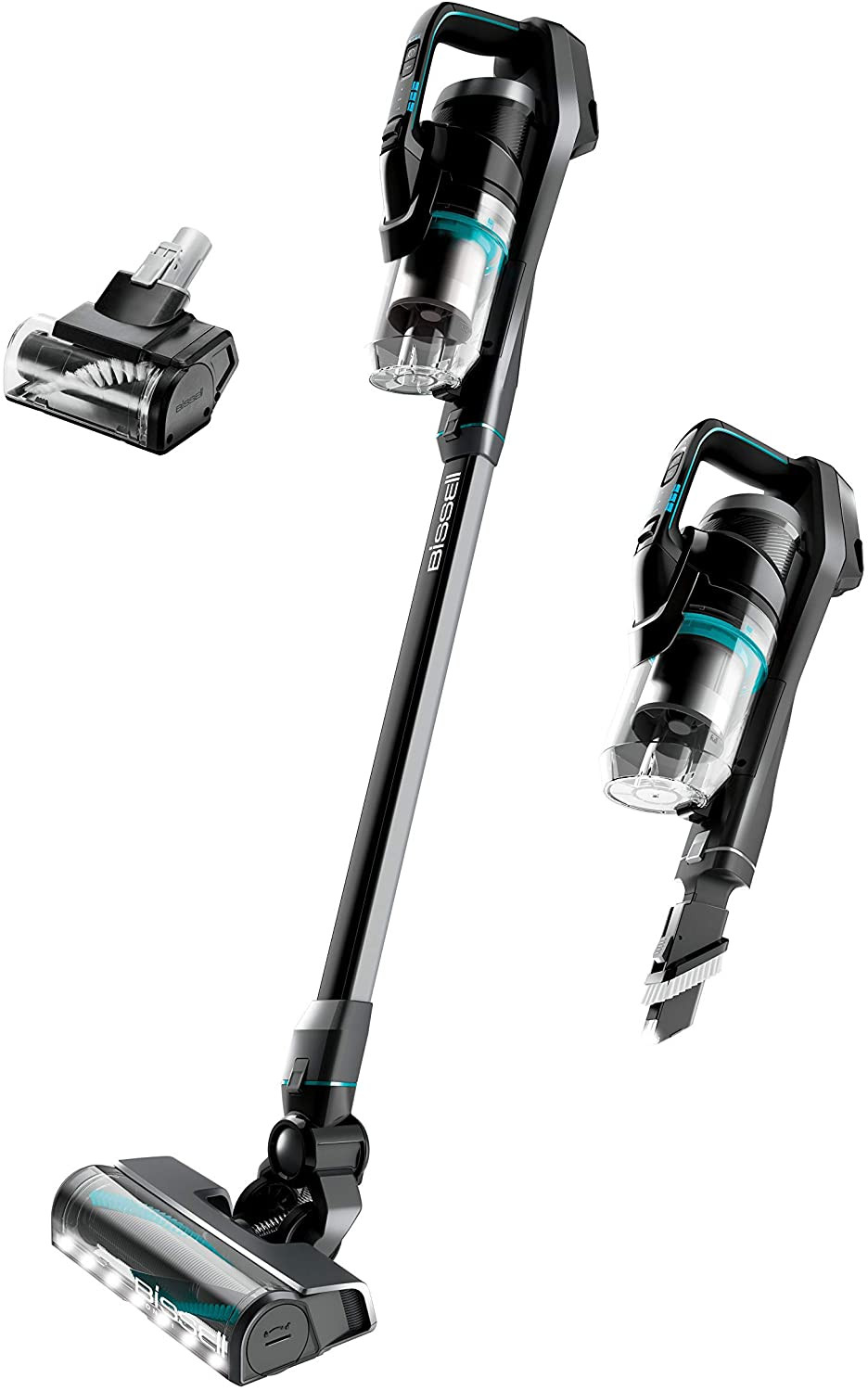 BISSELL ICONpet Cordless with Tangle Free Brushroll, Smart Seal Filtration, Lightweight Stick Hand Vacuum Cleaner