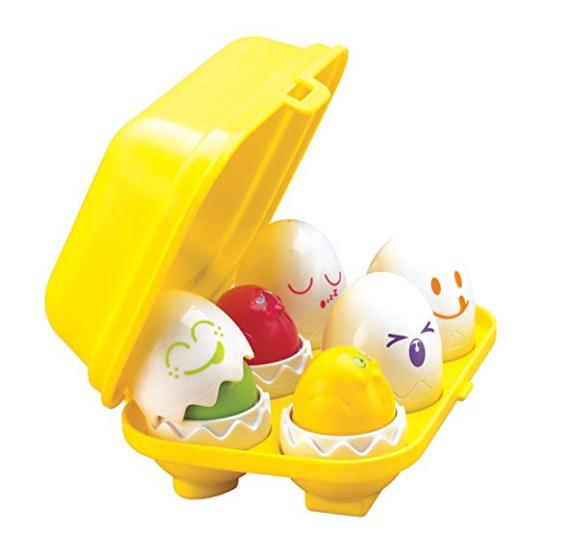Easter egg toddler toy
