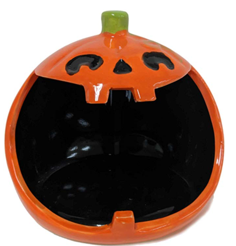jack o'lantern candy bowl