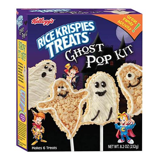 rice krispies treats ghost pop kit