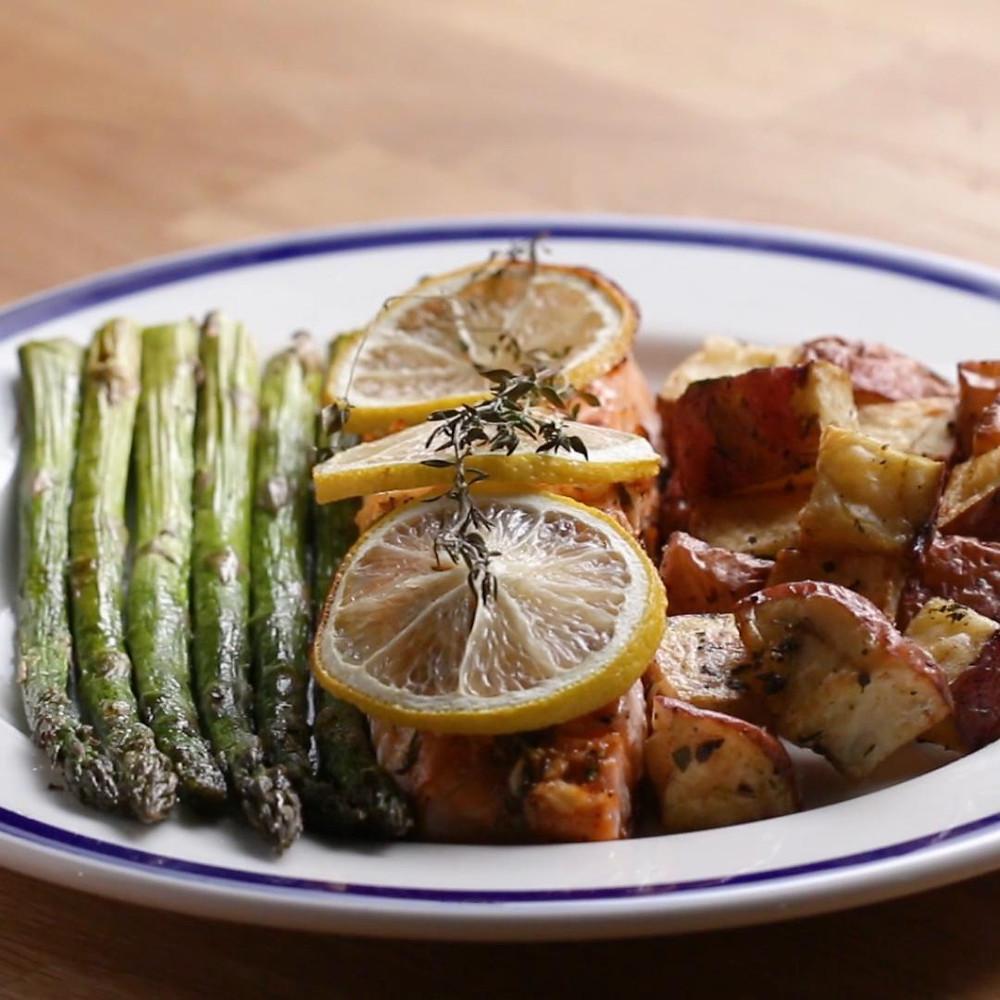easy salmon dinner recipe