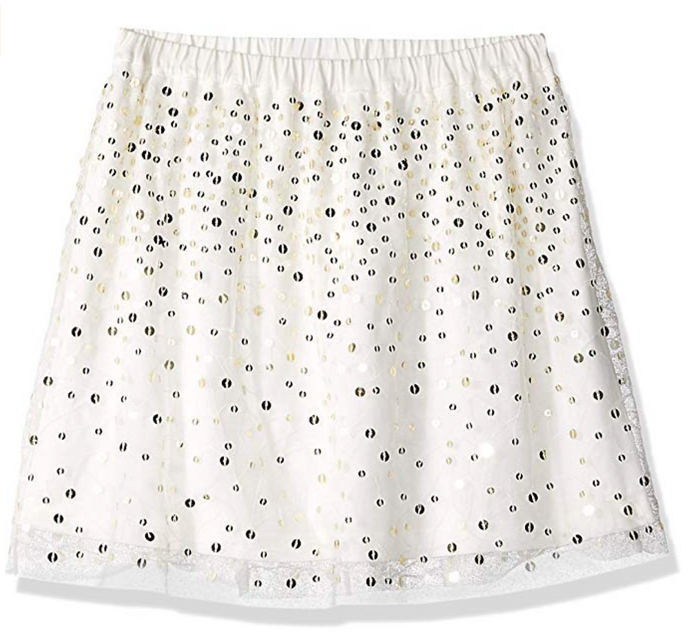 Amazon/ J. Crew Brand- LOOK by crewcuts Girls' Sequin Skirt
