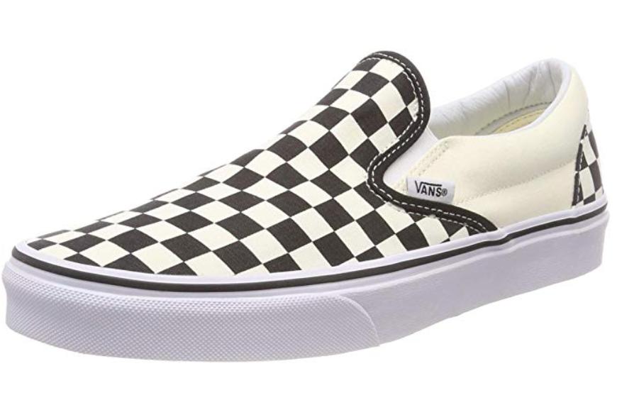 Vans Unisex Classic (Checkerboard ) Slip-On Skate Shoe