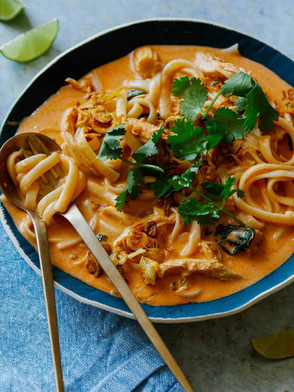 Spicy Thai Red Curry Soup