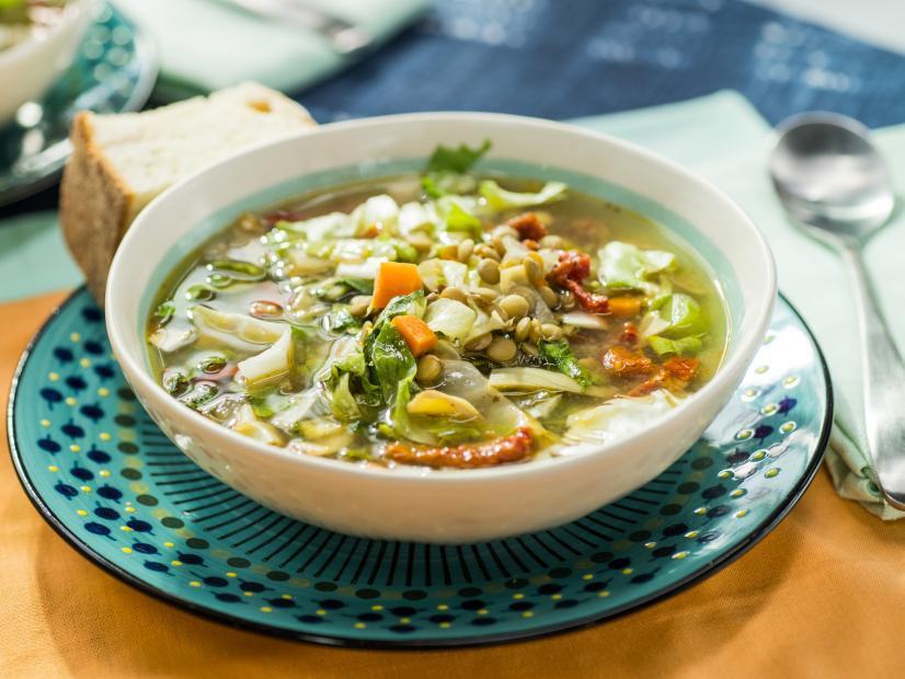 Slow-Cooker Mediterranean Lentil Soup