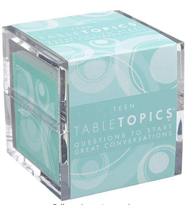 table topics for teens