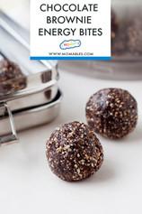 No-Bake Chocolate Brownie Energy Bites