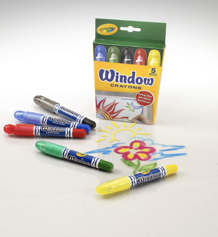 crayons washable window crayons
