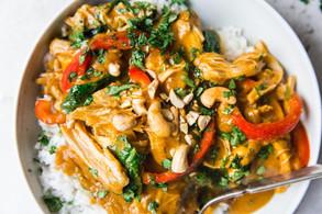Slow Cooker Chicken Pumpkin Curry