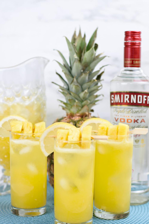 Spiked Pineapple Lemonade