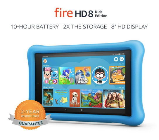 Fire HD8 kids edition