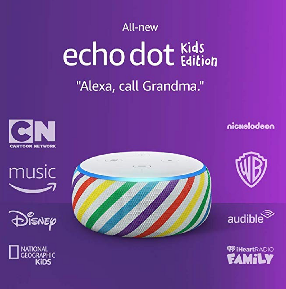 echo dot for kids
