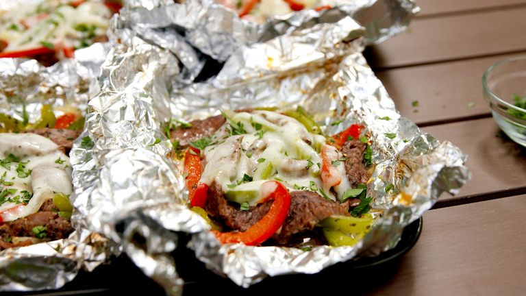Philly Cheesesteak Foil Packets