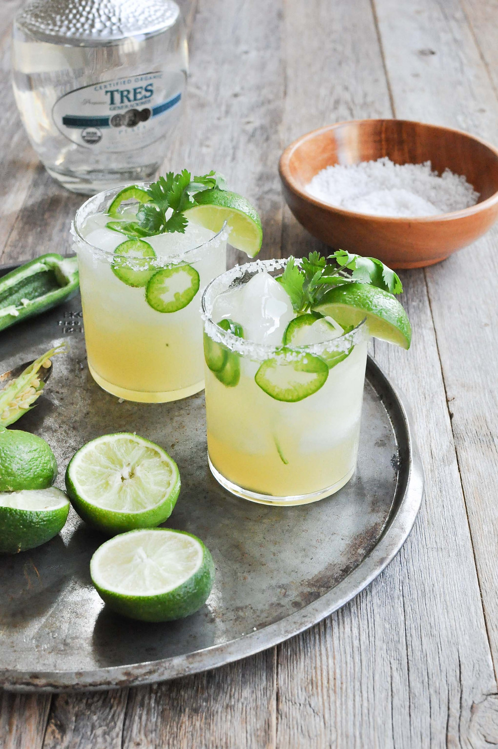 lime and jalapeno margarita cocktail recipe