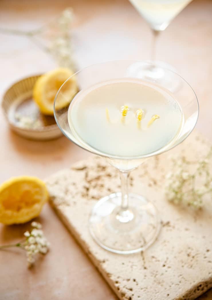 Limoncello Martini (Lemon Drop Martini)