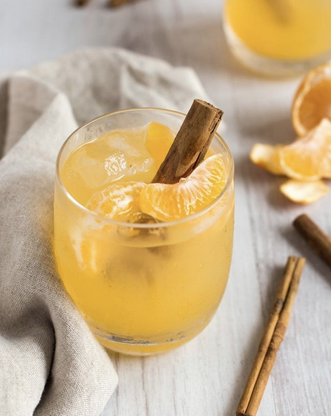 Clementine Whiskey Smash