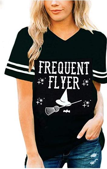 frequent flyer halloween tee