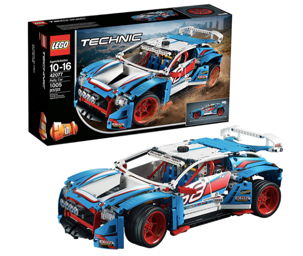 technic rally lego car