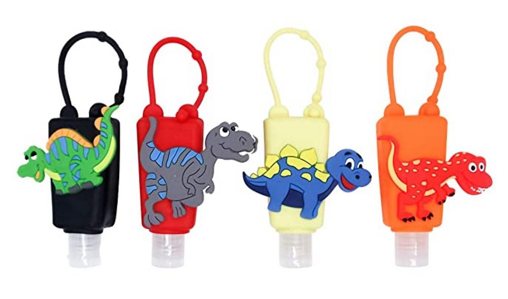 Kids hand sanitizer holders
