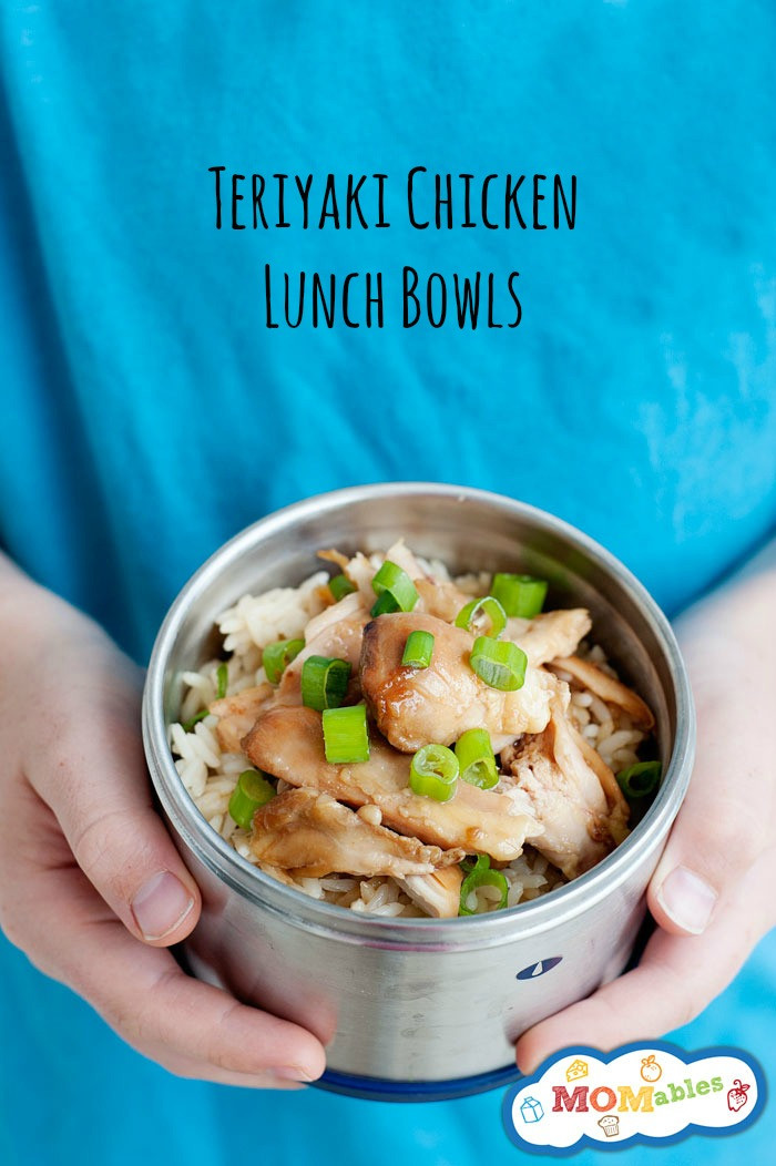 chicken teriyaki lunch bowls