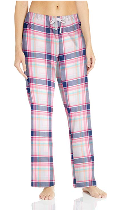 women's poplin pajama set
