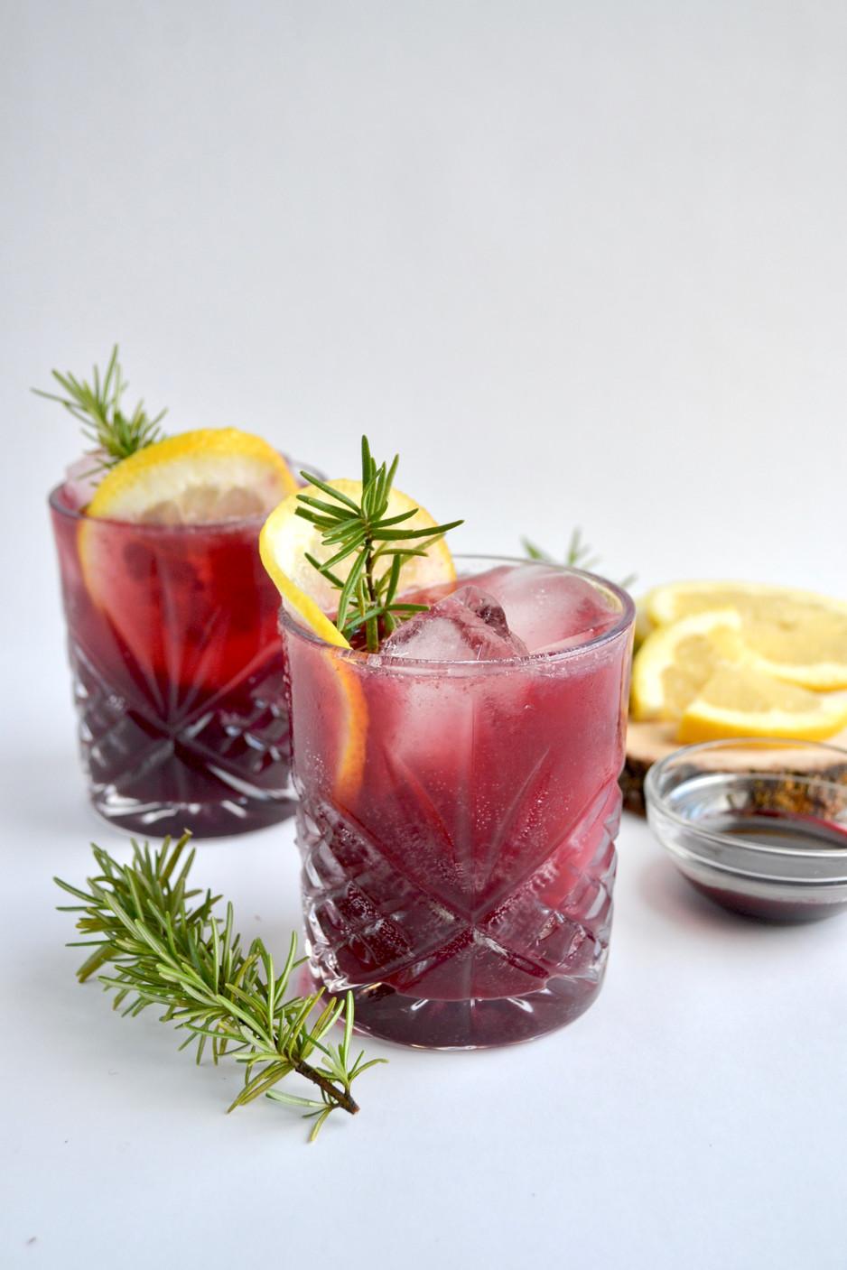 Elderberry Immune Boosting Cocktail