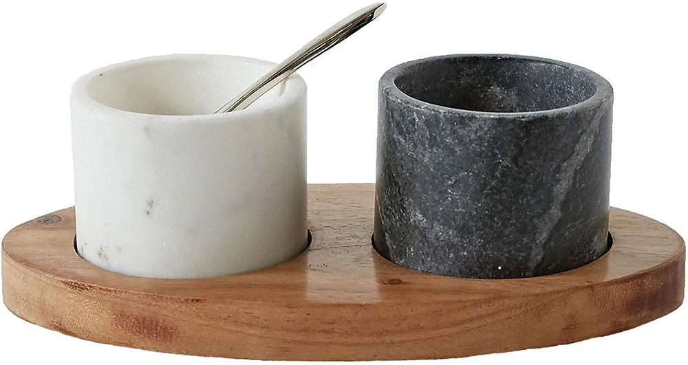 Marble Salt & Pepper