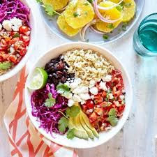 easy veggie burrito bowl recipe