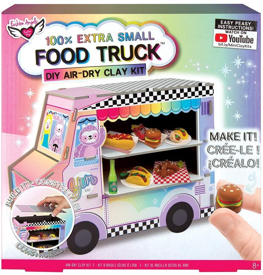 extra small food truck DIY clay kit