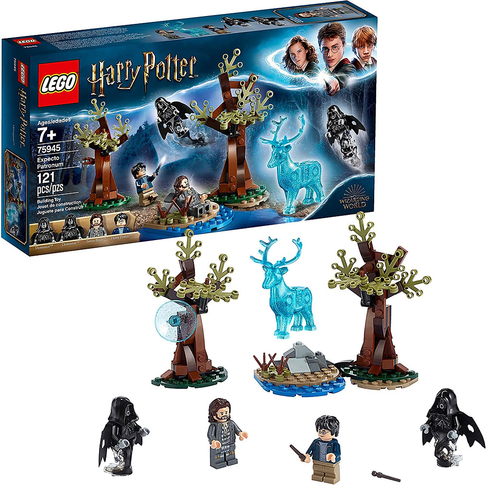 LEGO Harry Potter and The Prisoner of Azkaban Expecto Patronum 75945 Building Kit
