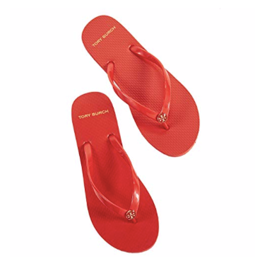 Tory Burch Rubber Flip Flop Sandals