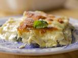White Spinach-Artichoke Lasagna